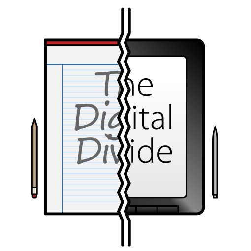 digital divide paper pen ipad tablet electronic difference