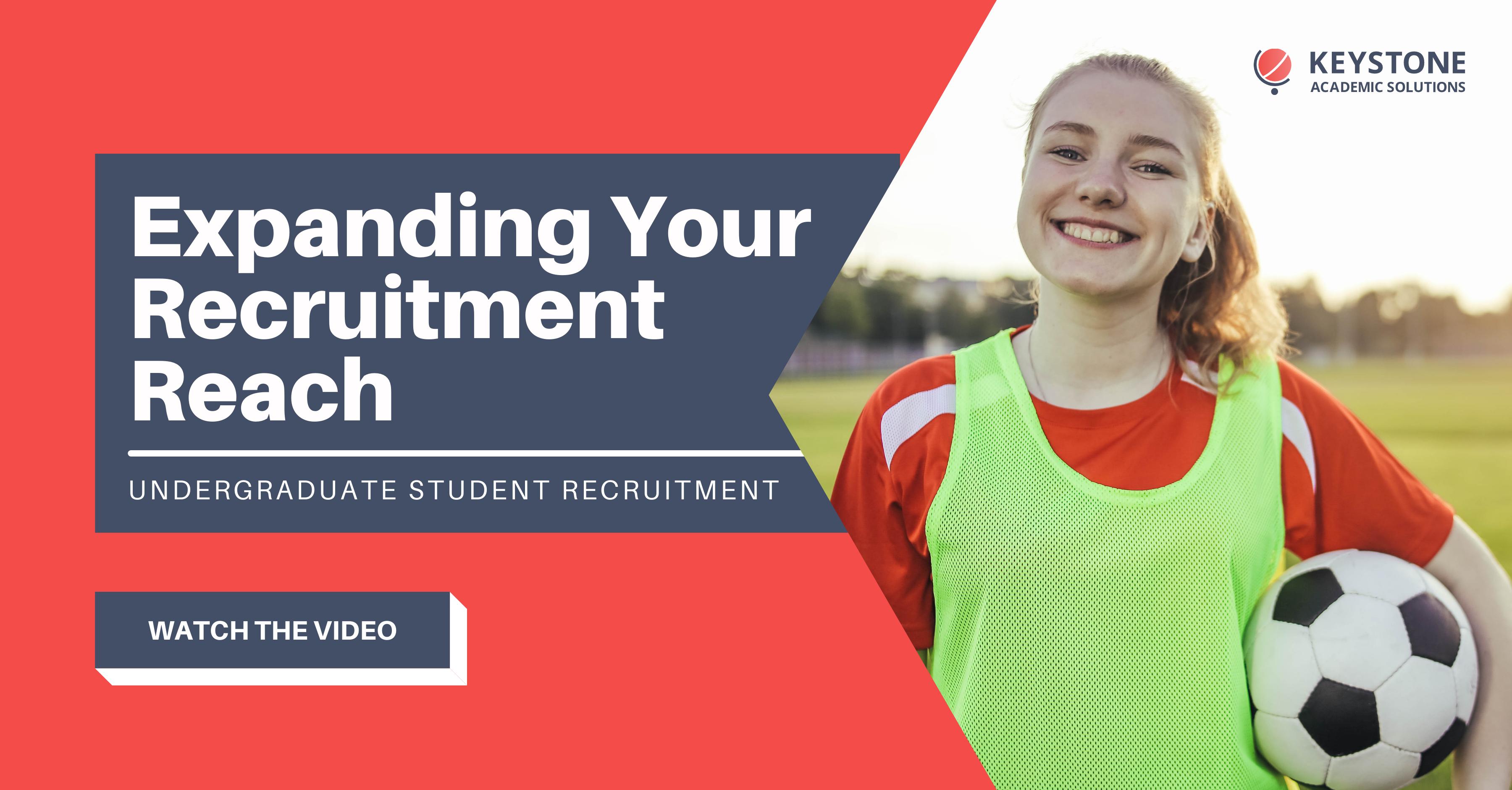Undergraduate Student Recruitment (WEBINAR)