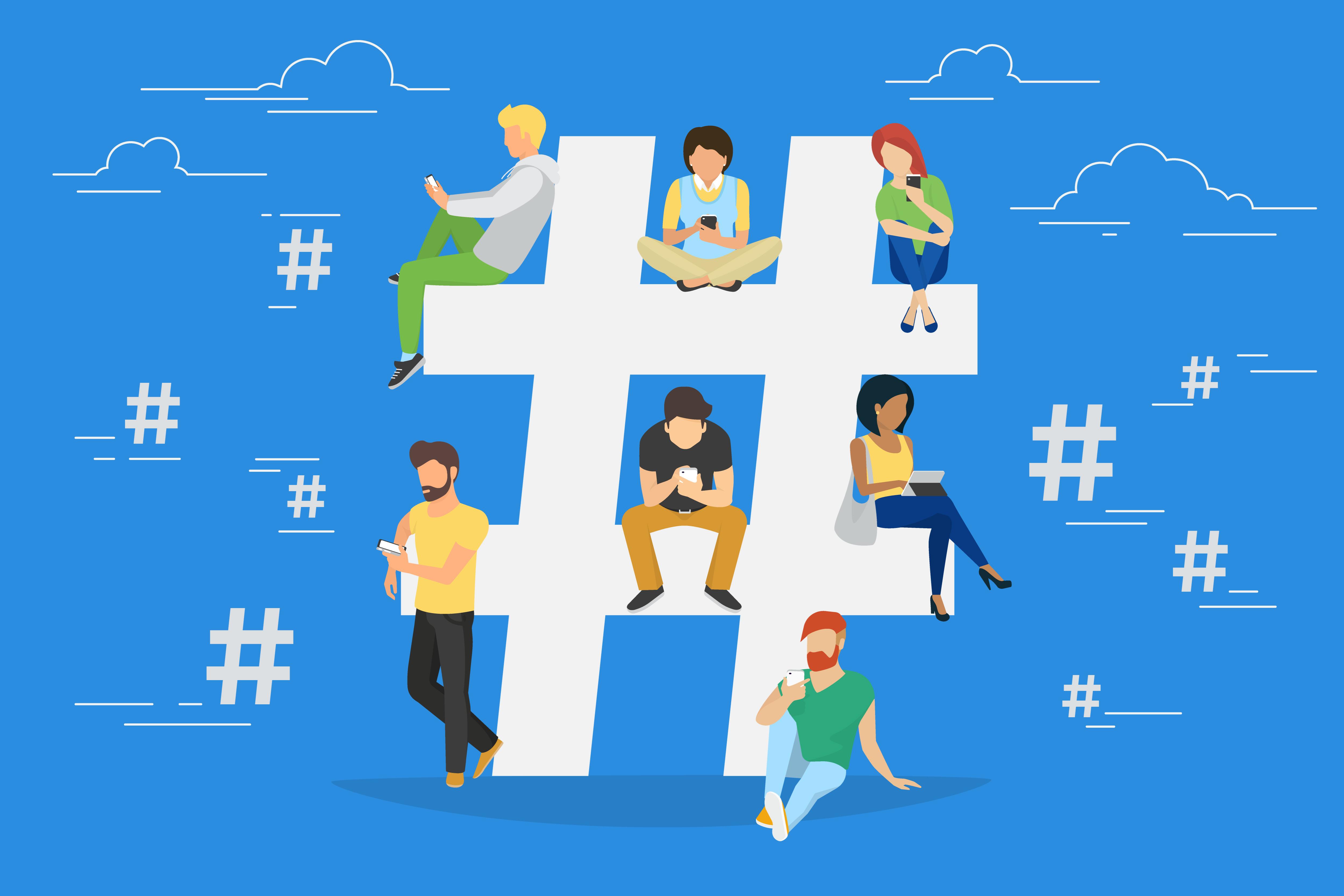Hashtags for student recruitment trending